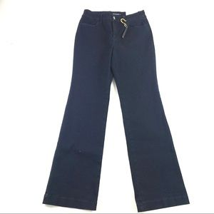 NEW Chico's Platinum Trouser Leg Jeans 0 US 4